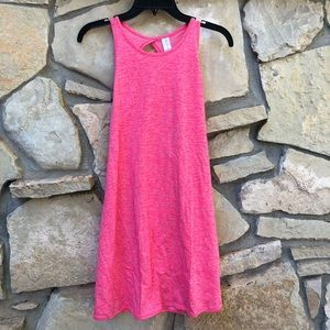 5/$15 NEW No Bounderies Cross Back Pink Dress